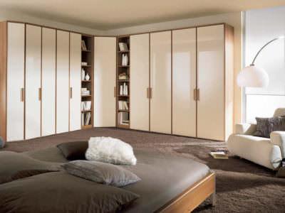 Шкаф-Распашной Угловой +Библиотека
