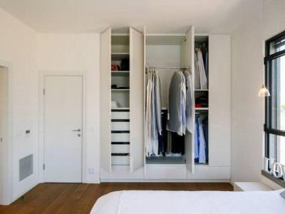 Шкаф-Распашной Платяной Белый