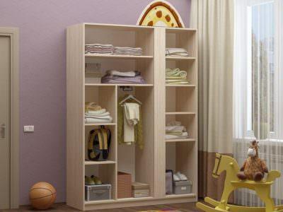Шкаф для детской без Дверей