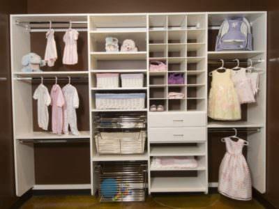 Шкаф без Фасадов для Детских вещей